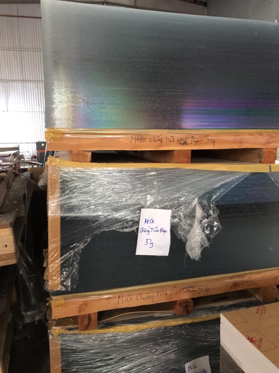 Địa chỉ Phân phối Mica chống tĩnh điện Hàn Quốc nhập khẩu, tại Hà Nội