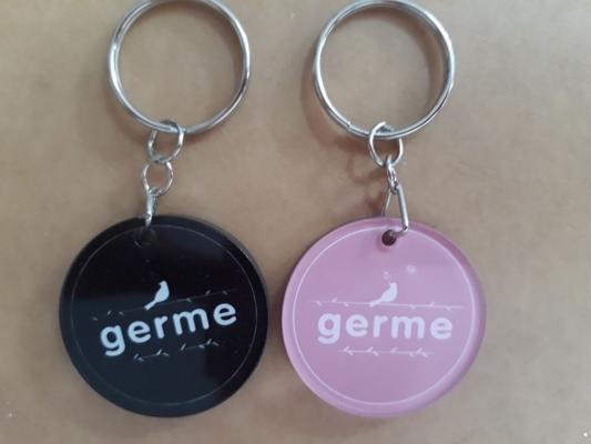 Móc treo chìa khóa mica Germe